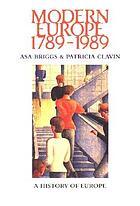 Modern Europe 1789-1989