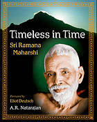 Timeless in time : Sri Ramana Maharshi