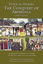 The conquest of Abyssinia : 16th century
