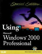 Using Microsoft Windows 2000 professional
