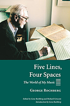 Five lines, four spaces : the world of my music