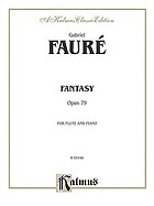 Fantasy : opus 79, for flute and piano