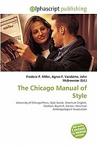 The Chicago manual of style : University of Chicago Press, style guide, American English, citation, Bryan A. Garner, American Anthropological Association