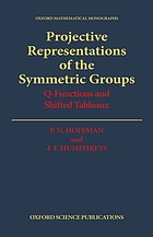 Projective representations of the symmetric groups : Q-functions and shifted tableaux