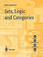 Sets, logic, and categories