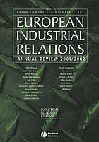 European industrial relations annual review 2001/2002