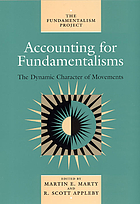 Accounting for fundamentalisms : the dynamic character of movements