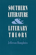 Southern literature and literary theory
