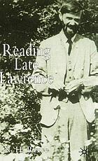 Reading late Lawrence