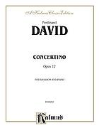 Concertino in B flat major--opus 12, for bassoon and piano