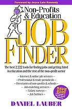 Non-profits' and education job finder, 1997-2000