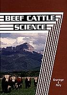 Beef cattle science