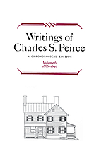 Writings of Charles S. Peirce a chronological editionWritings : a chronological edition