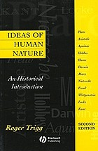 Ideas of human nature : an historical introduction