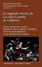 La segunda versión de La vida es sueño de Calderón
