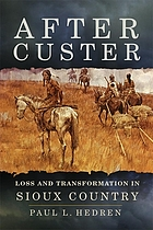 After Custer : loss and transformation in Sioux country