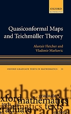 Quasiconformal maps and Teichmüller theory