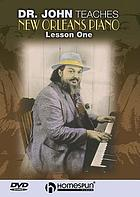 Dr. John teaches New Orleans piano