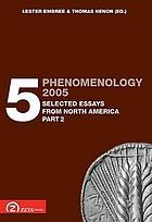 Phenomenology 2005