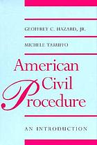 American civil procedure : an introduction