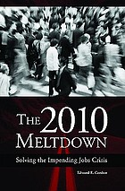 The 2010 meltdown : solving the impending jobs crisis