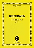 Sixth and seventh symphonies : in full orchestral score