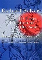 The exact location of the soul : new and selected essays