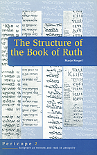 The structure of the book of Ruth