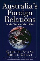 Australia's foreign relations : in the world of the 1990s
