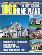 1001 all-time best-selling home plans