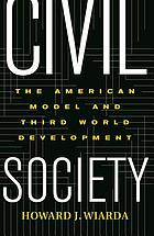 Civil society the American model and Third World development