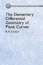 The elementary differential geometry of plane curves