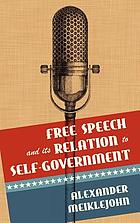 Free speech and its relation to self-government