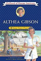 Althea Gibson : young tennis player