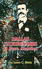 Dallas Stoudenmire : El Paso Marshal