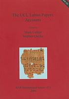 The UCL Lahun Papyri : accounts
