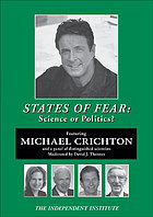 States of fear science or politics?