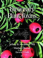 Dictionary of plant toxins