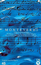 The operas of Monteverdi