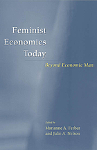 Feminist economics today : beyond economic man