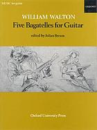 Five bagatelles for guitar