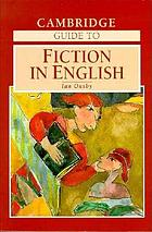 Cambridge guide to fiction in English