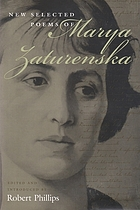 New selected poems of Marya Zaturenska