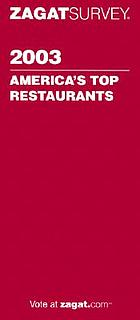 2003 America's top restaurants