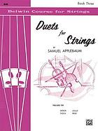 Duets for strings : violin