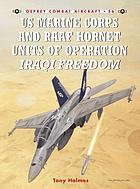 US Marine Corps and RAAF Hornet units of Operation Iraqi Freedom