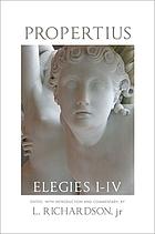 Elegies, I-IV