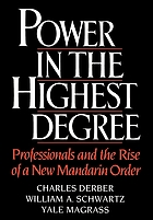 Power in the highest degree : professionals and the rise of a new Mandarin order
