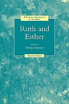 Ruth and Esther : a feminist companion to the Bible
