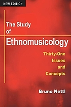The study of ethnomusicology : thirty-three discussions